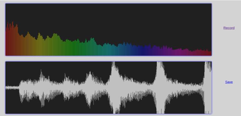 Wendelin-ERP5 Audio Recorder