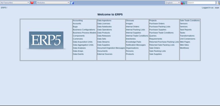Wendelin-ERP5 Installed