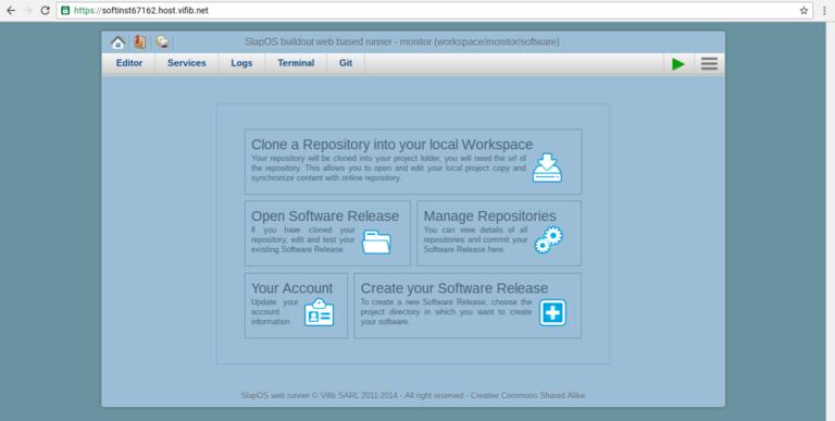 Wendelin-ERP5 Monitor Webrunner