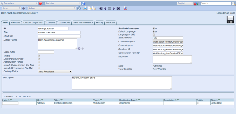 Wendelin-ERP5 - Clone Website