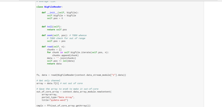 Wendelin-ERP5 - Create Big File Class