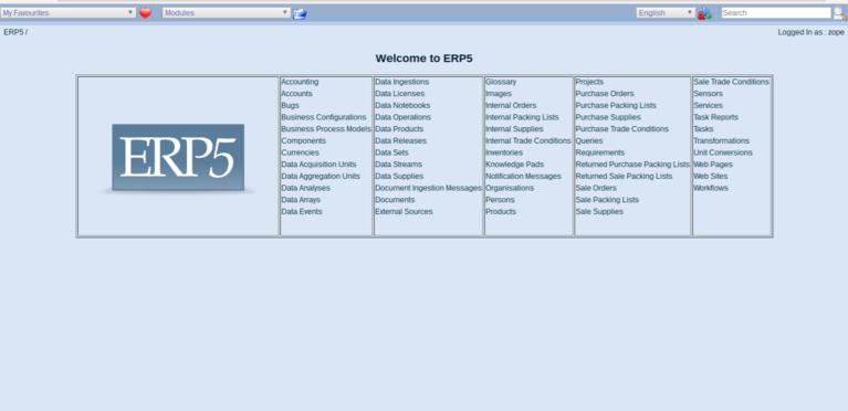 Wendelin ERP5 - All set