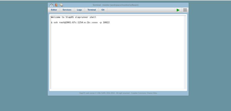 Wendelin-ERP5 Shell SSH