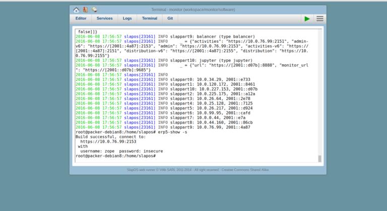 Wendelin-ERP5 Check Software Installation Status