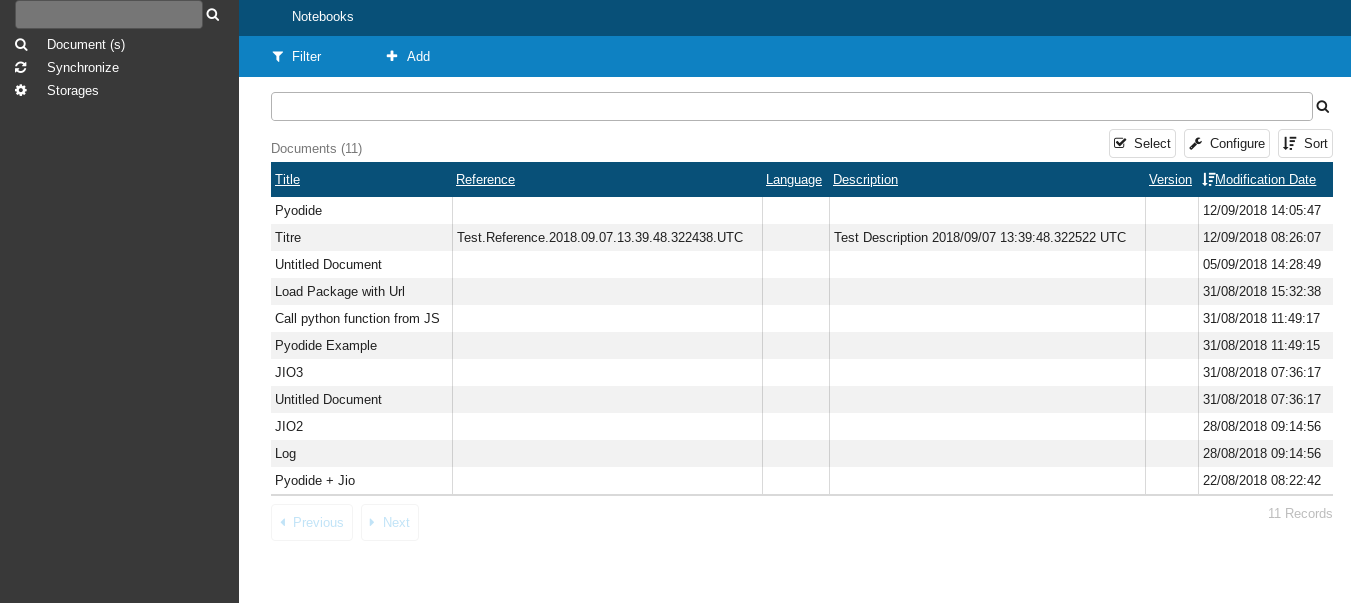 OfficeJS Iodide Notebook View