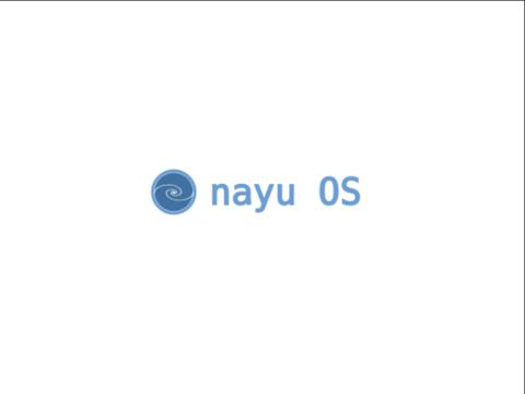 NayuOS | Open Source OS - Startup Screen